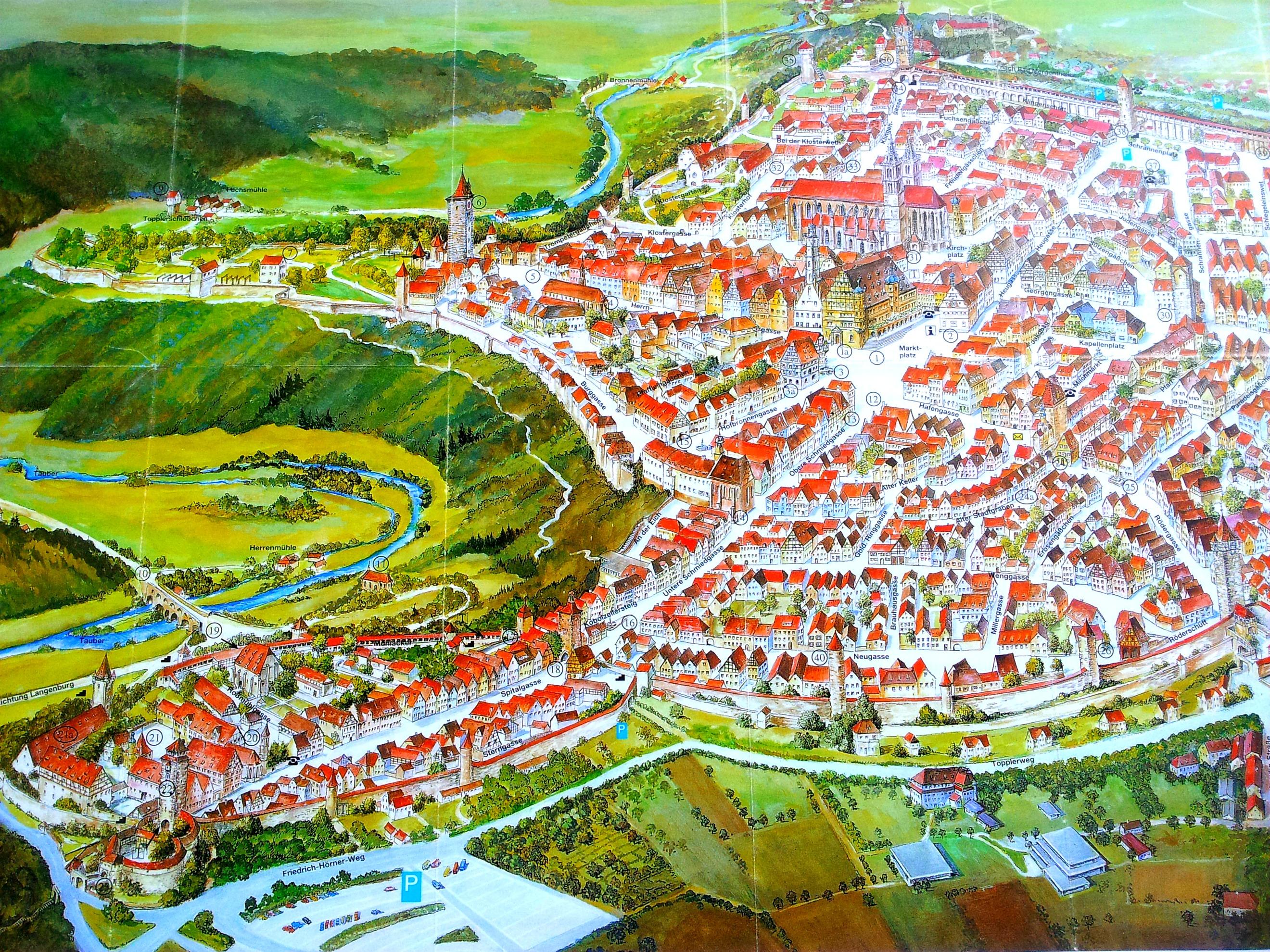 Rothenburg Liv Hambrett – Map Rothenburg Germany